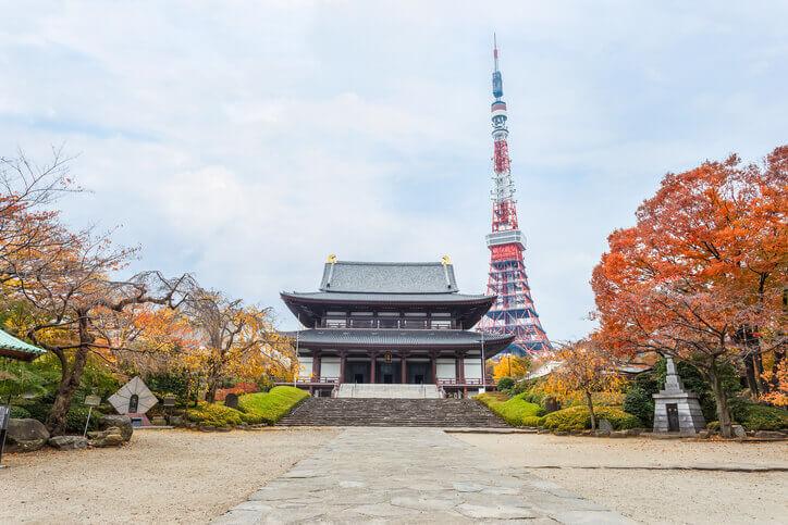 パワースポット 増上寺