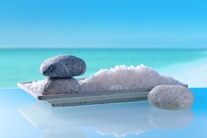 塩風呂 死海の塩
