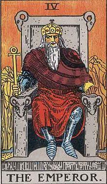 タロットの意味 皇帝