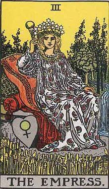 タロットの意味 女帝