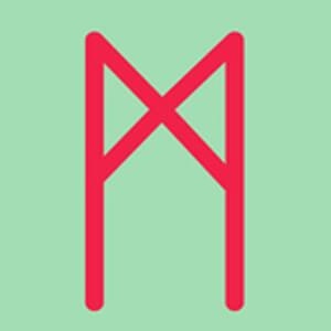 ルーン文字の意味 マンナズ Mannaz