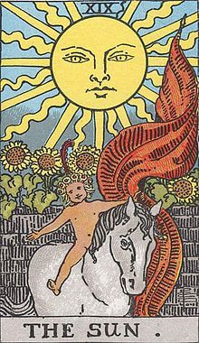 タロットの意味 太陽