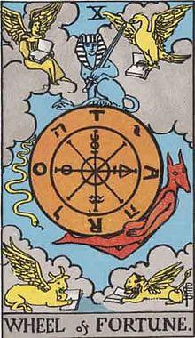 タロットの意味 運命の輪