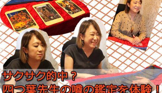 占い体験取材レポート!千里眼新宿西口店。シンプルで的確!四つ葉先生の占いとは?