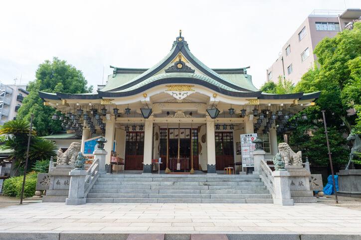大阪パワースポット 難波八坂神社