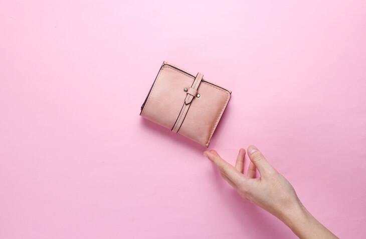 金運 財布 ピンク