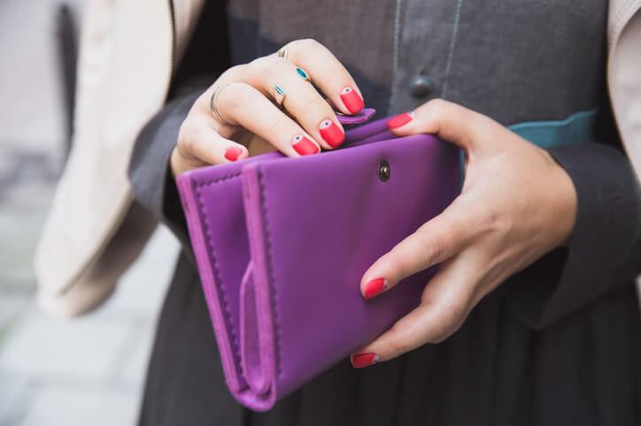 金運 財布 紫色
