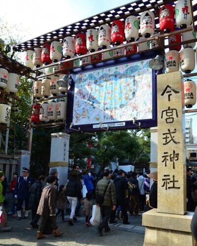 パワースポット大阪 今宮戎神社