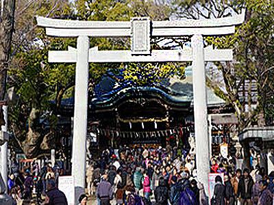 大阪パワースポット 石切神社