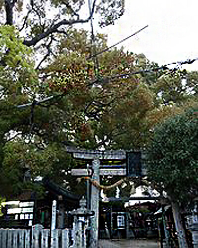 大阪パワースポット 三島神社