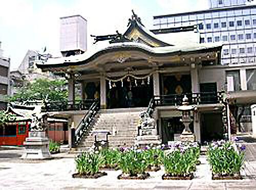大阪パワースポット 難波神社