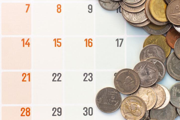 宝くじ 購入日 カレンダー