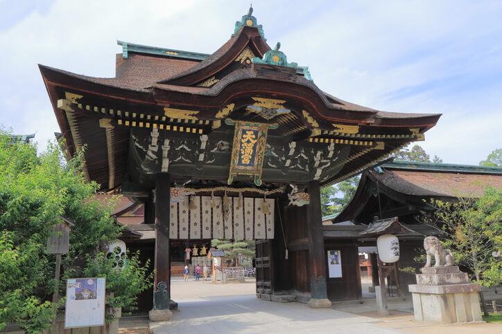 京都パワースポット 北野天満宮