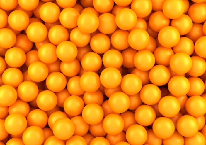 オレンジ オーブ 意味