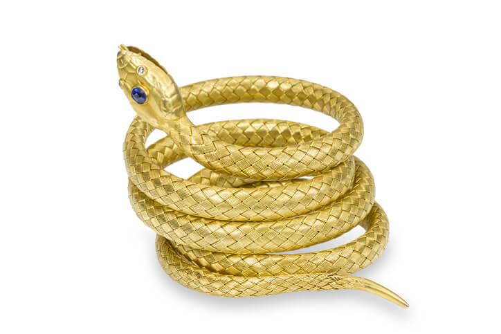 夢占い 蛇 金色