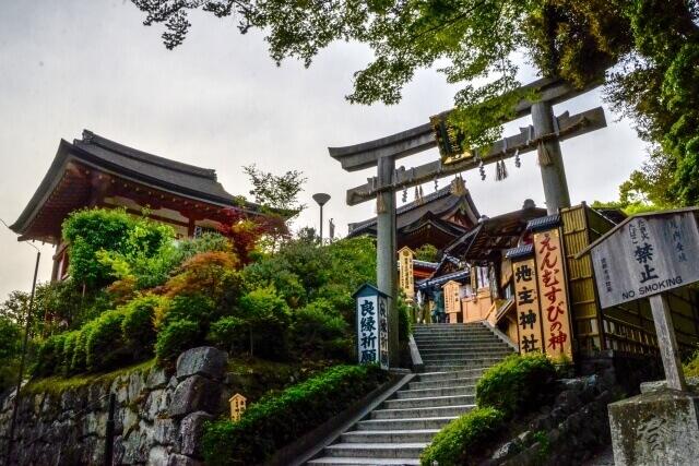 京都パワースポット 地主神社