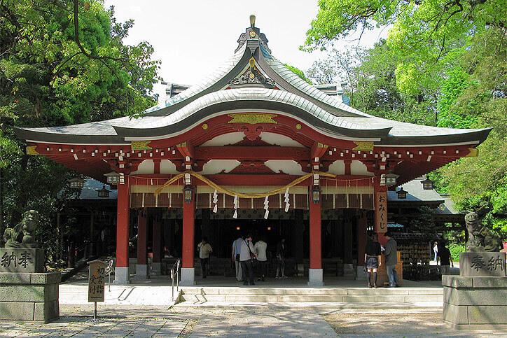 埼玉パワースポット 久伊豆神社