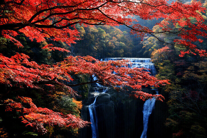 茨城パワースポット 袋田の滝