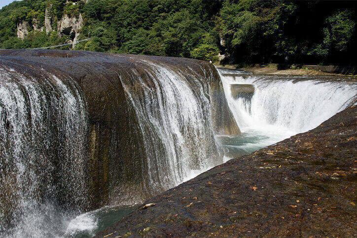 群馬のパワースポット 吹割の滝