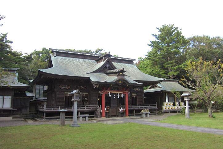 茨城パワースポット 大洗磯前神社