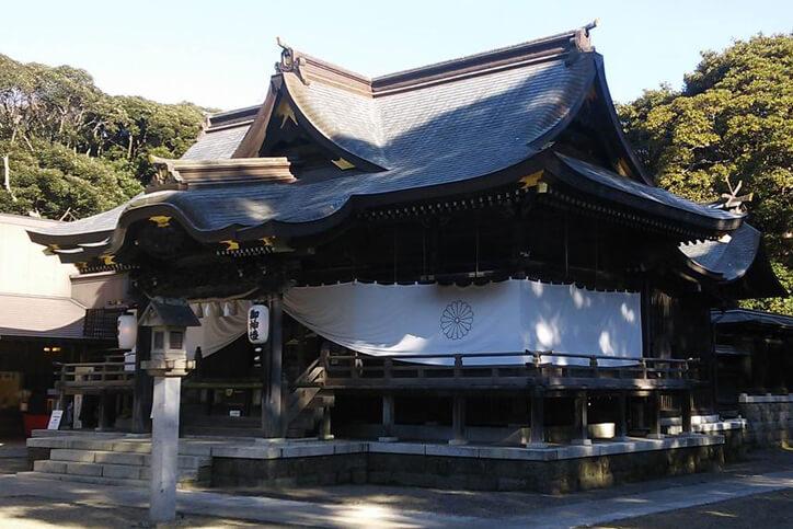 茨城パワースポット 酒列磯前神社