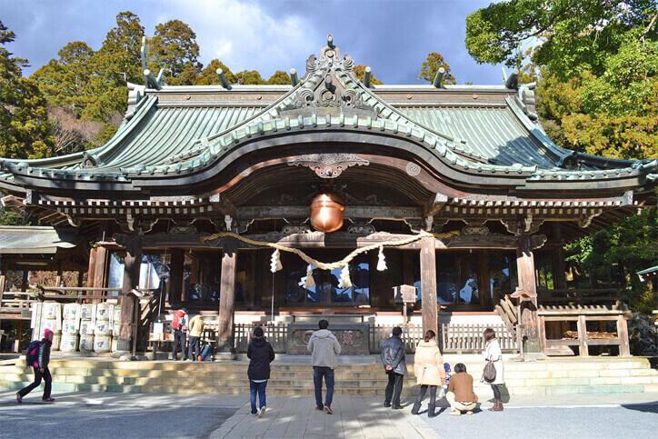 茨城パワースポット 筑波山神社