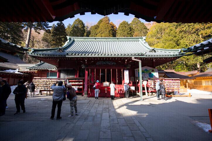 神奈川パワースポット 箱根神社