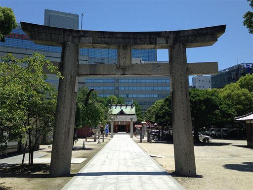 福岡パワースポット 警固神社