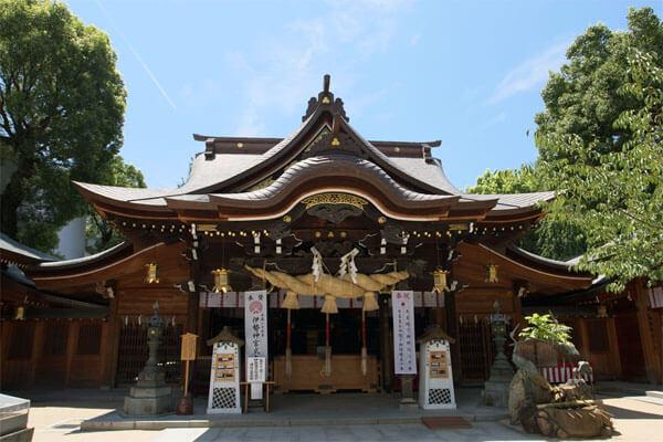 福岡パワースポット 櫛田神社