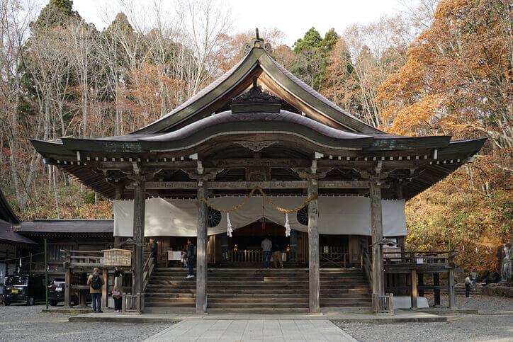 長野パワースポット 戸隠神社