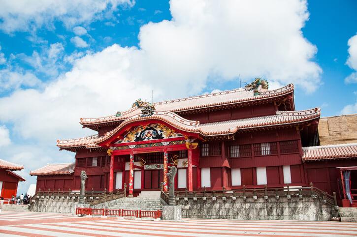 沖縄パワースポット 首里城