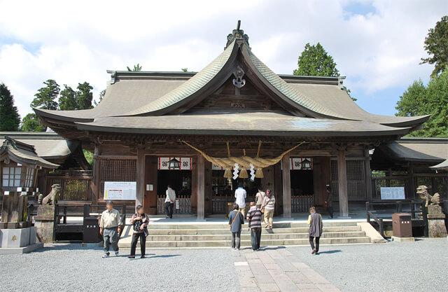 熊本パワースポット 阿蘇神社
