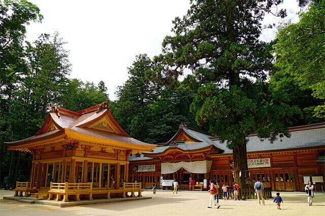 長野パワースポット 穂高神社