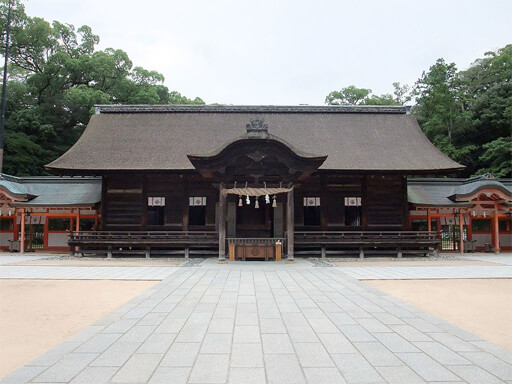 愛媛パワースポット 大山祇神社