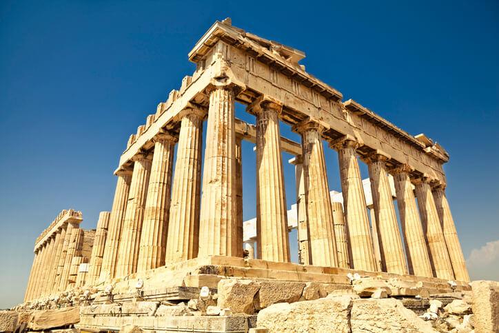 海外 パワースポット パルテノン神殿