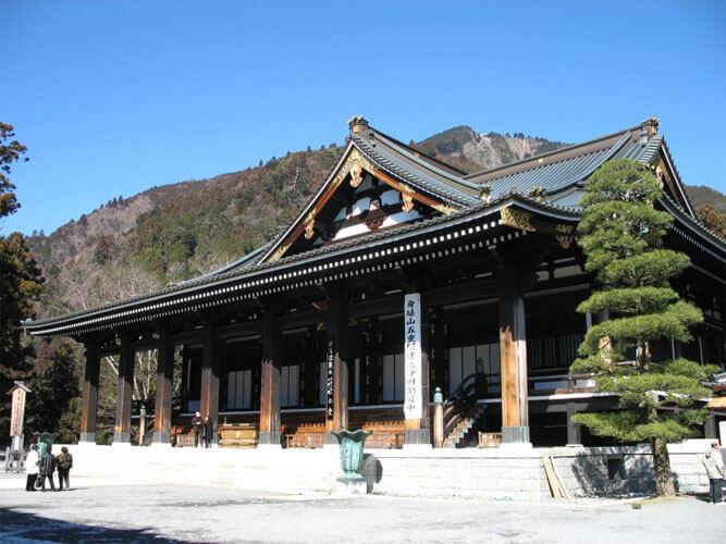 山梨 パワースポット 久遠寺