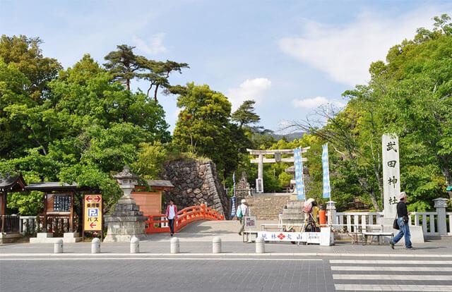 山梨 パワースポット 武田神社
