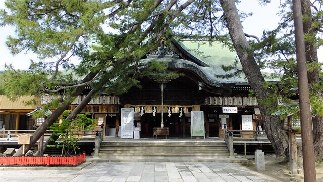 白山神社 新潟 パワースポット