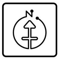 方位ポン【九星気学】にしけい氏監修方位地図アプリ 風水 アプリ 占い