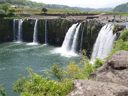 原尻の滝 大分 パワースポット 当たる 占い