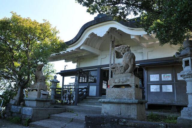日峰神社 徳島 パワースポット