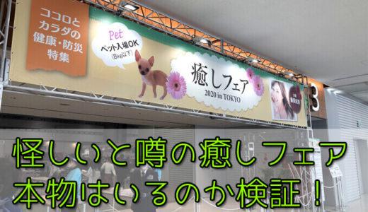 怪しいと噂の癒しフェア2020東京に霊能者を連れて行って「本物」がいるのか検証!