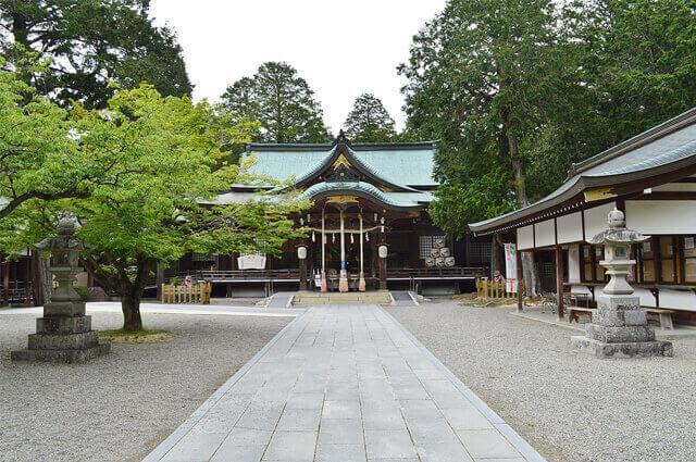 徳島 パワースポット 大麻比古神社