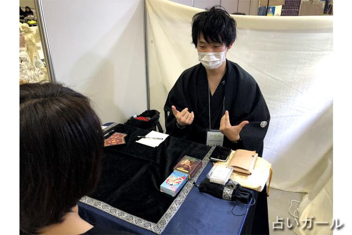 スピリチュアルカウンセル六神道 木村勇介 癒しフェア 占いガール 体験 検証