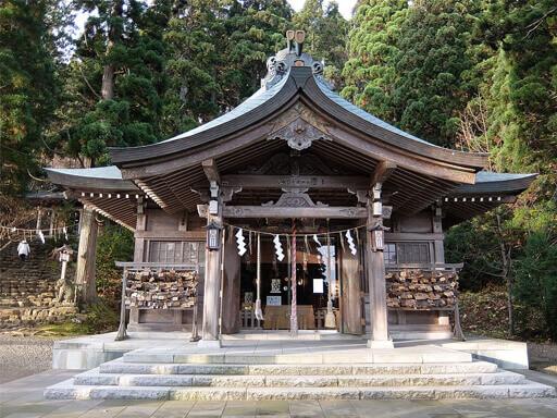 真山神社 秋田 パワースポット