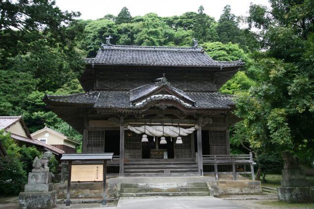 城上神社 島根 パワースポット ランキング 観光 おすすめ