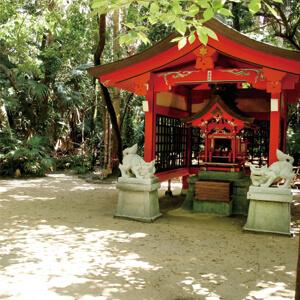 青島神社 パワースポット 縁結び 元宮