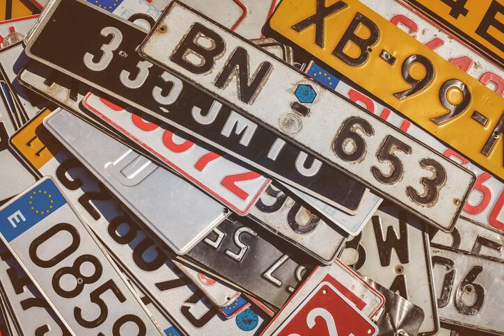 車 縁起の良い数字 ラッキーナンバー