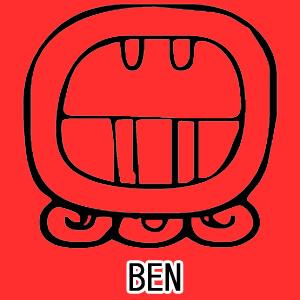 マヤ暦 太陽の紋章 赤い空歩く人 意味 特徴 BEN