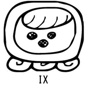 マヤ暦 太陽の紋章 白い魔法使い 意味 特徴 IX